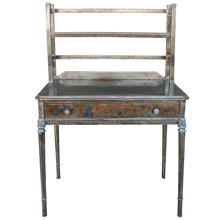 Raw Metal Desk by Simmons C1928