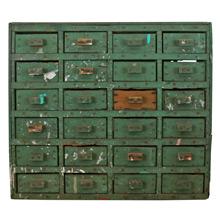 Incredible Hand-Built Industrial Storage Cabinet C1930
