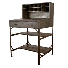 Steel Foreman's Desk c1930s