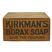 Kirkman's Soap Crate C1950's
