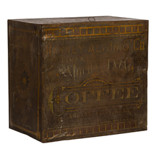 Large Early-Century Coffee Tin c1905