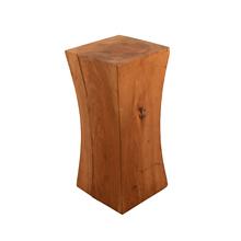 Petite Concave Maple Block Side Table c1960s