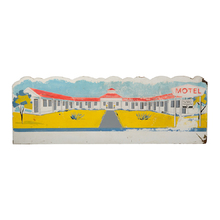 Hand-Painted Motel Sign c1950s