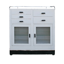 Art Deco Operating Room Cabinet C1930s