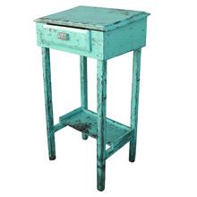 Rustic Green Factory Foreman's Desk C1935