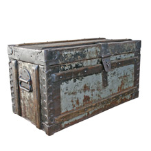 Working Class Steamer Trunk C1915