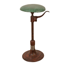 Extremely Rare and Early Cast Iron Examination Room Stool c1912