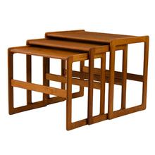 Mid-Century Teak Nesting Table c1960s