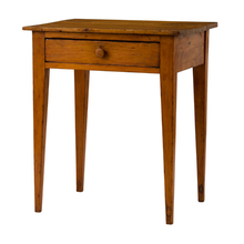 Rustic Kitchen Table w/ Drawer c1920s