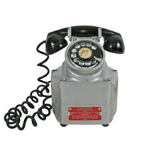 "Aluminum Crouse-Hinds ""Explosion Proof"" Hazard Phone C1960"