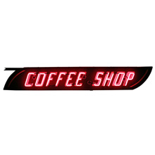 Double-Sided Neon Coffee Shop Sign C1950