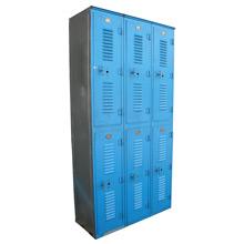 Bright Blue Locker Bay C1965