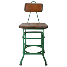 Handsome Sit-Rite Shop Stool by the Wisconsin Chair Co C1930
