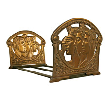Neo-Classical Expandable Book Ends C1930