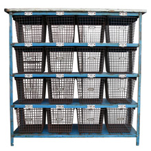 Gymnasium Locker Basket Unit by Medart C1965