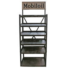 Industrial Mobil Oil Display Rack C1925