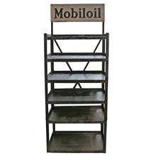 Industrial Mobil Oil Display Rack C1925