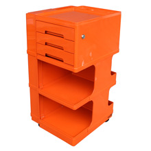 Bright Orange Stile Organizational Unit By Neolt Italy C1965