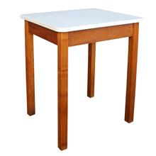 Enamel and Oak Kitchen Side Table C1930