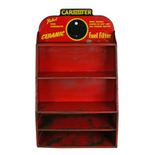 Carter Carburetor Display Shelf C1945