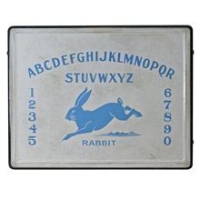 Porcelain Enamel Alphabet Sign C1920s