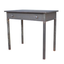Raw Steel Simmons Desk c1930s