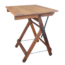 Petite Collapsible Drafting Table c1935