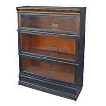 Oak Globe Wernicke Barrister's Bookcase c1930