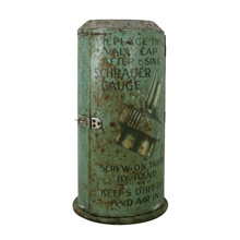 Industrial Schrader Valve Company Display Cabinet c1945