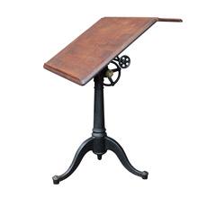 Industrial Washburn Drafting Table w/ Cast Iron Base C1900