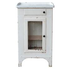Streamlined Medical Cabinet W/ Enamel Top c1930