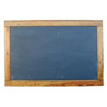 Large True Slate Chalkboard W/ Pine Frame C1935