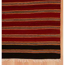 Vintage Anatolian Striped Kilim c1920