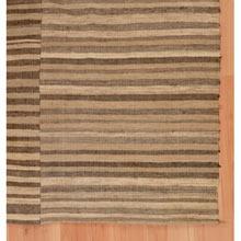 Vintage Finely Woven Striped Kilim c1910