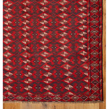 Vintage Turkmen Tent Rug c1900