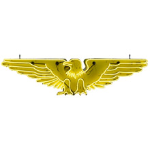 Double-Sided Neon Eagle Sign c1940s