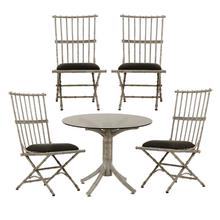 Set of Cast Aluminum Patio Furniture c1950