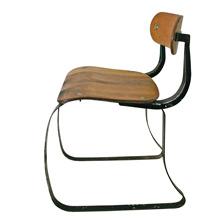 Wood and Steel IRONRITE HEALTH POSTURE IRONING CHAIR C1938