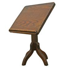 Tabletop Articulating Oak Book Stand C1935