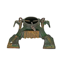 Traditional Victorian Cast Iron Tree Stand C1900