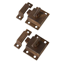 Pair Of T-Handle Cupboard Latch, C1905