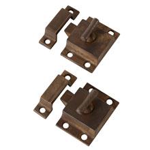 Pair Of T-Handle Cupboard Latch, C1905