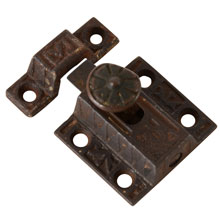 Sargent Eastlake Cupboard Latch, Pat. 1871