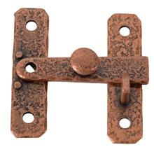 McKinney NOS Copper-Plated Bar Cabinet Latch C1955