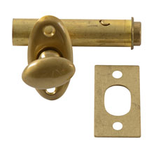 Brass thumb Latch Dead Bolt by Sargent C1940