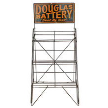 Douglas Battery Industrial Display Shelf C1940