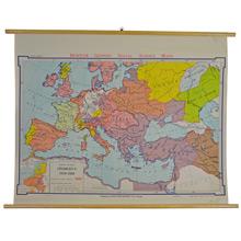 Mid-Century Denoyer-Geppert European Map c1950s