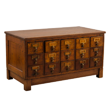 Low Card Catalog Cabinet c1925
