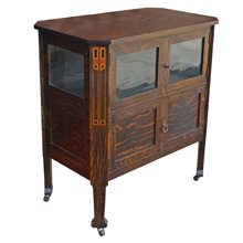 Petite Arts and Crafts Sideboard c1915