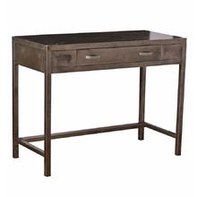 Raw Steel Vanity Desk by Simmons c1935